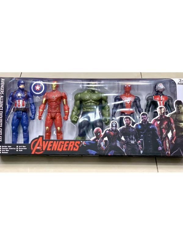 Фигури отмъстители (Avengers) Спайдърмен,Железният човек,Хълк