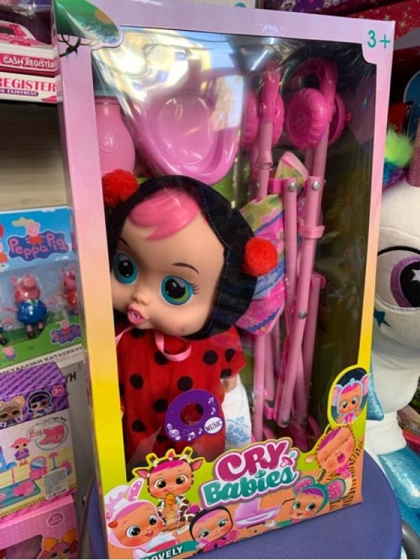 Cry baby с количка