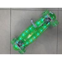 Пениборд  светещ led (скейтборд)